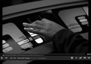 Koksfinger in StarTrek
